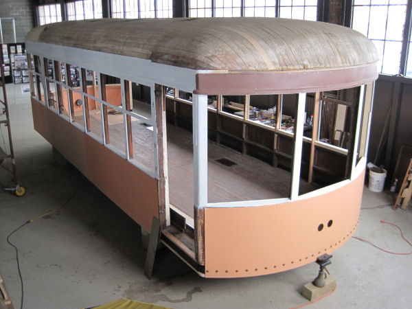 Jamestown Trolley Car 93 Restoration Project Jamestown Ny